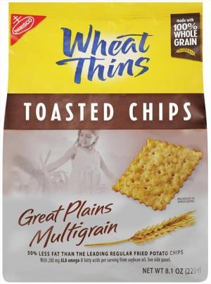 Nabisco Multigrain Wheat Thin Chips