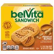 Nabisco BelVita Peanut Butter Sandwich