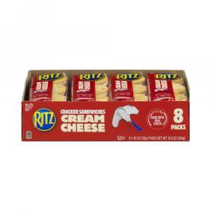Nabisco Ritz Creme Cheese Cracker Sandwiches