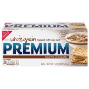 Premium Whole Grain & Sea Salt Crackers