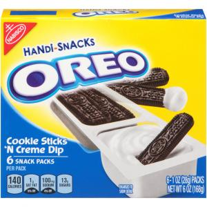 Kraft Dunk'ems Oreo Sticks & Creme