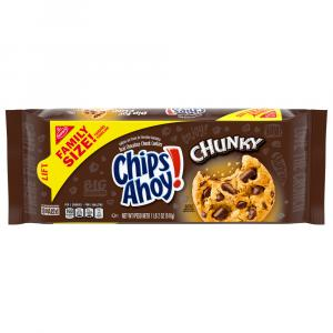 Nabisco Family Size Chips Ahoy! Cookies