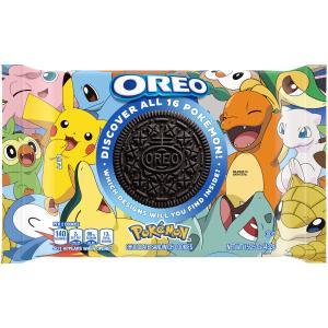 Nabisco Oreo Pokemon Chocolate Sandwhich Cookies