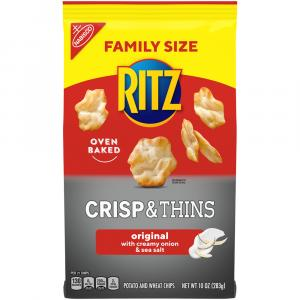 Ritz Crisp & Thins Sea Salt Family Size