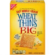 Nabisco Big Wheat Thins Crackers