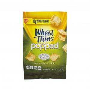 Nabisco Wheat Thins Popped Sour Cream & Onion