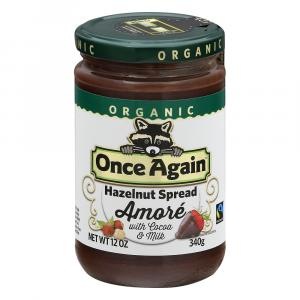 Once Again Organic Chocolate Hazelnut Spread