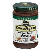 Once Again Organic Hazelnut Spread Amore with Cocoa & Milk