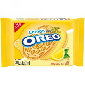 Nabisco Oreo Lemon Twist Cookies