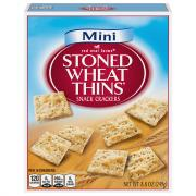 Red Oval Mini Stoned Wheat Thins
