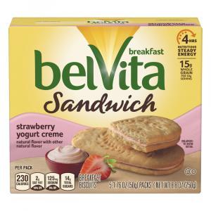 Nabisco BelVita Strawberry Yogurt Creme Breakfast Bites