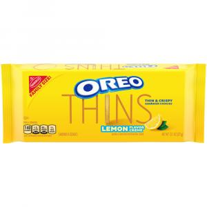 Oreo Thins Family Size Lemon