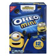 Oreo Mini Minions Cookies