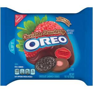 Nabisco Oreo Chocolate Covered Strawberry Cookies