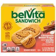 BelVita Sandwich Cinnamon Brown Sugar with Vanilla Creme
