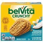 Nabisco BelVita Toasted Coconut Breakfast Biscuits