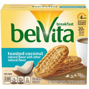 Nabisco BelVita Toasted Coconut Breakfast Biscuits