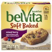 Nabisco BelVita Soft Baked Mixed Berry Breakfast Biscuits