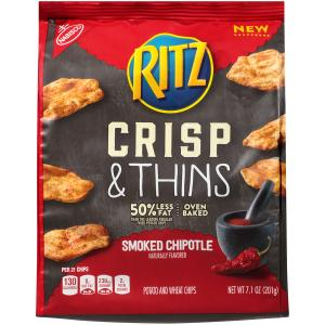 Ritz Crisp & Thins Smoked Chipotle