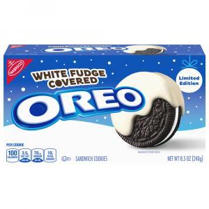 Nabisco White Fudge Covered Oreo Cookies