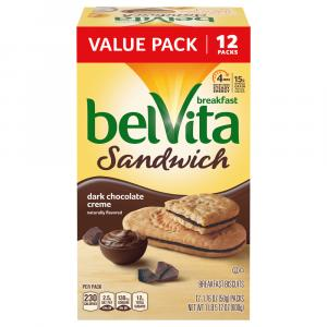 Belvita Breakfast Biscuits Dark Chocolate Cream