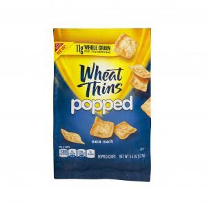 Nabisco Wheat Thins Popped Sea Salt