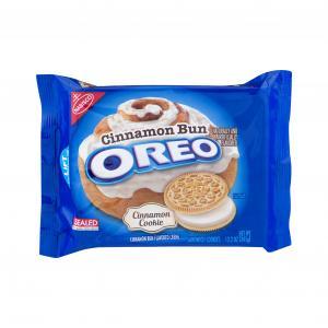 Nabisco Oreo Cinnamon Bun Cookies