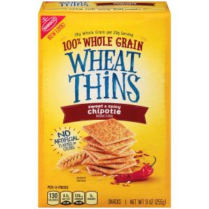 Nabisco Wheat Thins Sweet & Spicy Chipotle