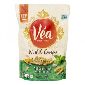 Vea Tuscan Herb With Roasted Garlic World Crisps Crackers