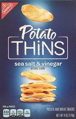 Nabisco Sea Salt & Vinegar Potato Thins