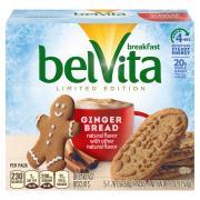 Belvita Gingerbread Limited Edition Breakfast Biscuits