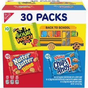 Nabisco Variety Pack Oreo, Ritz and Chips Ahoy!