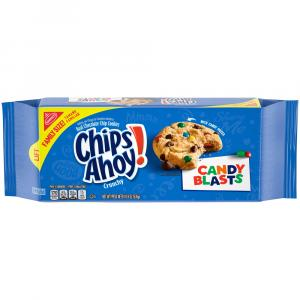 Chips Ahoy! Candy Blasts Chocolate Chip Cookies Family Size