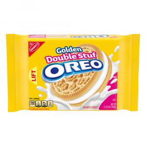 Nabisco Golden Double Stuf Oreo Cookies