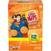 Cheese Nips Justice League Crackers