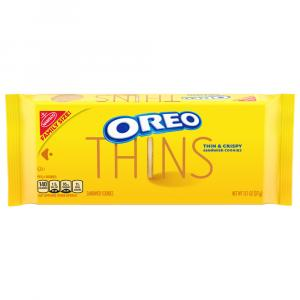 Oreo Thins Family Size Golden
