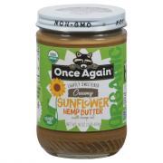 Once Again Organic Creamy Sunflower Hemp Butter