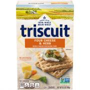 Triscuit Four Cheese & Herb