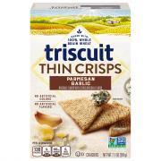 Triscuit Thin Crisps Parmesan Garlic