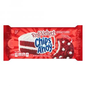 Nabisco Red Velvet Chips Ahoy! Filled Soft Cookies