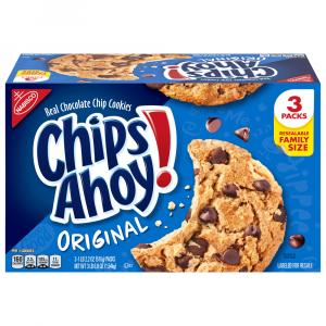Nabisco Chips Ahoy Original Resealable Family Size