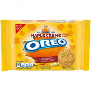 Oreo Sandwich Cookies Limited Edition Maple Creme