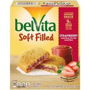 Belvita Soft Filled Breakfast Biscuits Strawberry