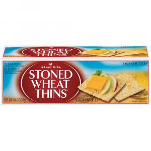 Red Oval Stoned Wheat Thins
