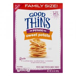 Good Thins Sweet Potato Snacks Family Size