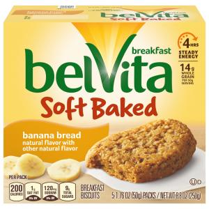 Nabisco BelVita Soft Baked Banana Bread