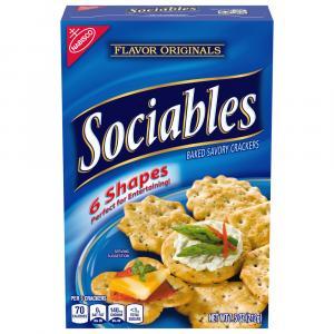 Nabisco Socialbles Crackers