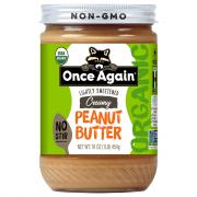 Once Again Organic Creamy Peanut Butter