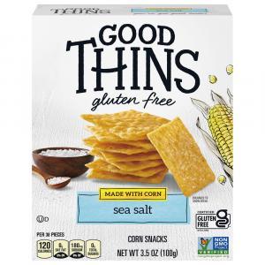 Nabisco Good Thins Gluten Free The Corn One Sea Salt