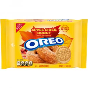 Oreo Apple Cider Donut Limited Edition Sandwich Cookies